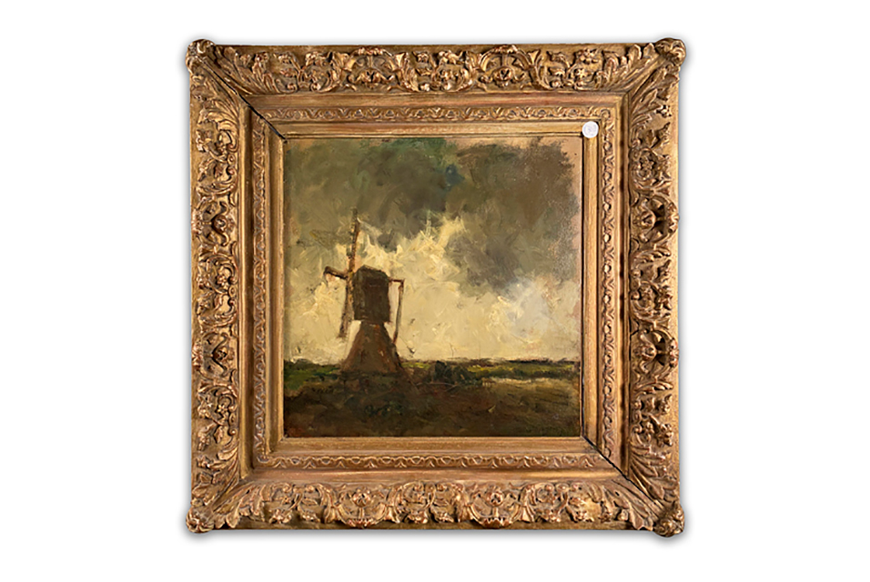 Kees van Dongen (Dutch/French,1877 - 1968), Windmill in a Landscape.