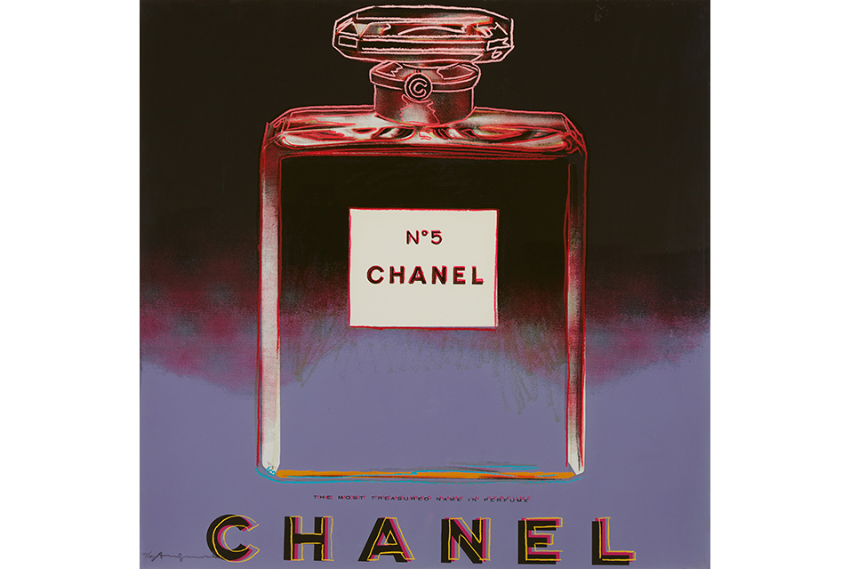 Andy Warhol (American, 1928-1987), Chanel from Ads. Sold for $175,000.