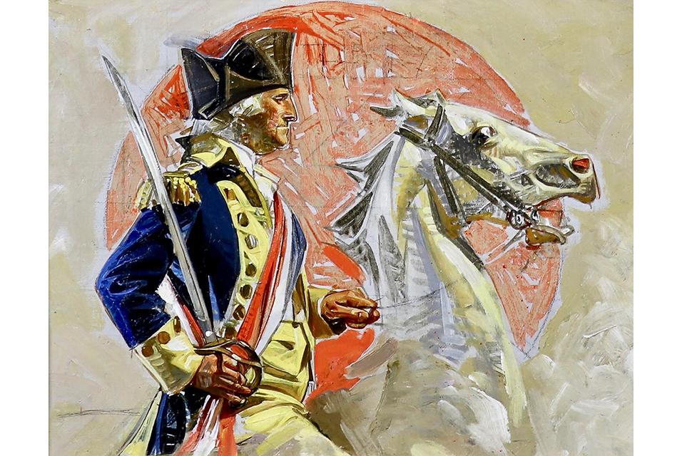 Joseph Christian Leyendecker, Washington 2. © Christie's Images Ltd 2020.