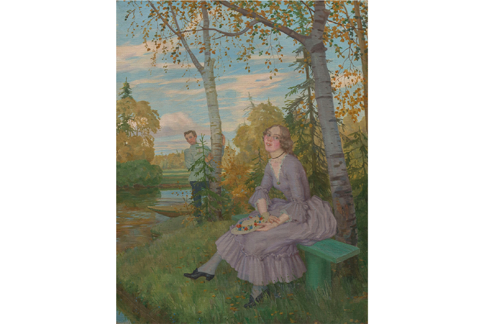 Konstantin Somov, A Young Lady and a Student. Estimate: £200,000–300,000.