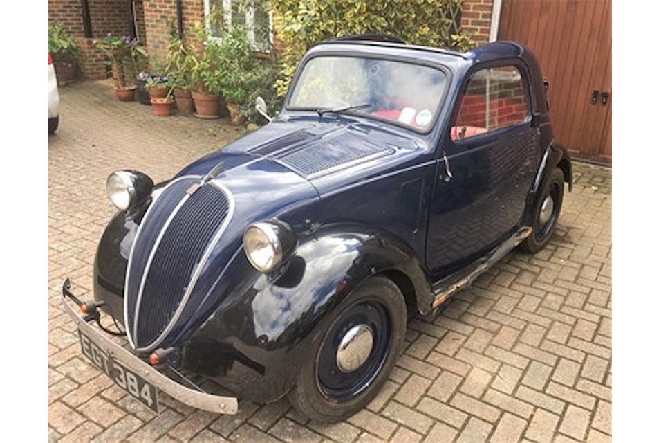 1937 Fiat 500 'Topolino' sold for, £19,550.