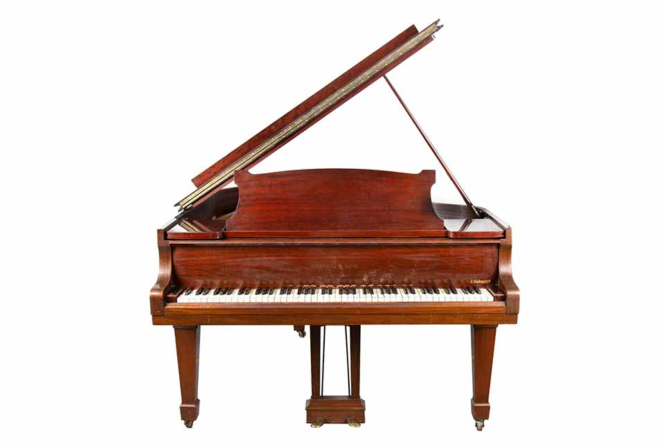 A companion of Szpilman's entire musical career, the Steinway piano from 1937 was present in his house until his death.