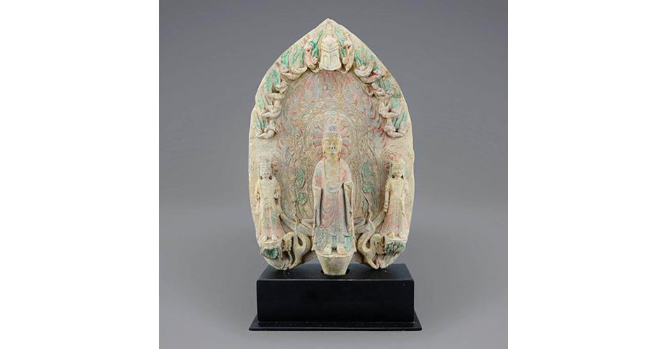 Lot 26 Northern Wei Dynasty, Buddhist Stele