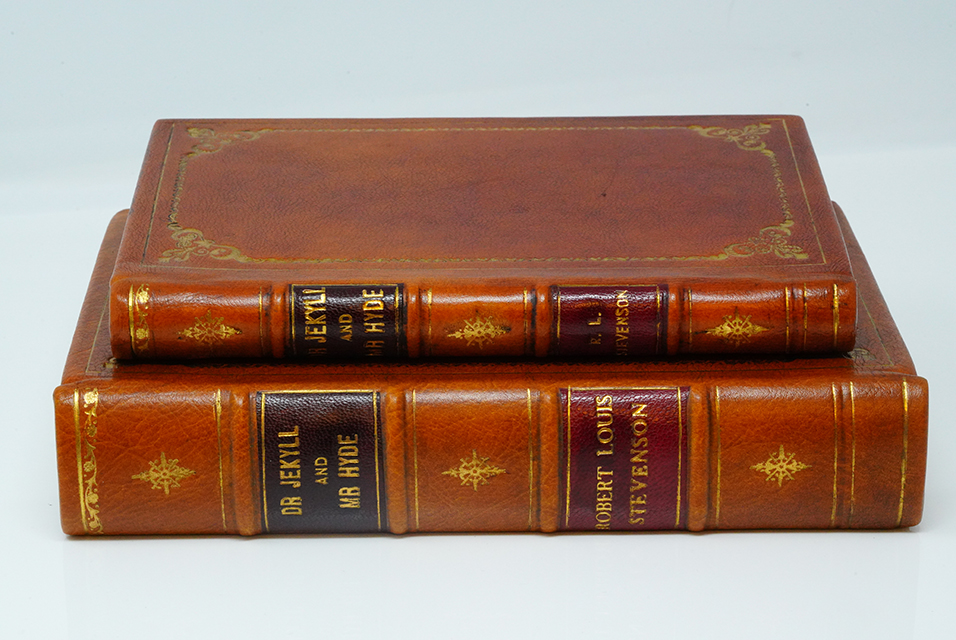 Robert Louis Stevenson; Strange Adventures of Dr. Jekyll and Mr. Hyde (1886) First Edition Printing From The Collection of Richard Garnett W/Custom Clamshell Case. Photo: Kruse GWS Auctions.