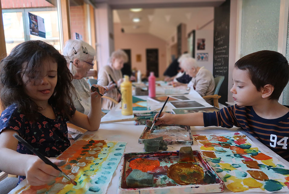 Watts Gallery Trust's Art for All learning programme delivers transformative workshops for socially excluded and vulnerable groups.