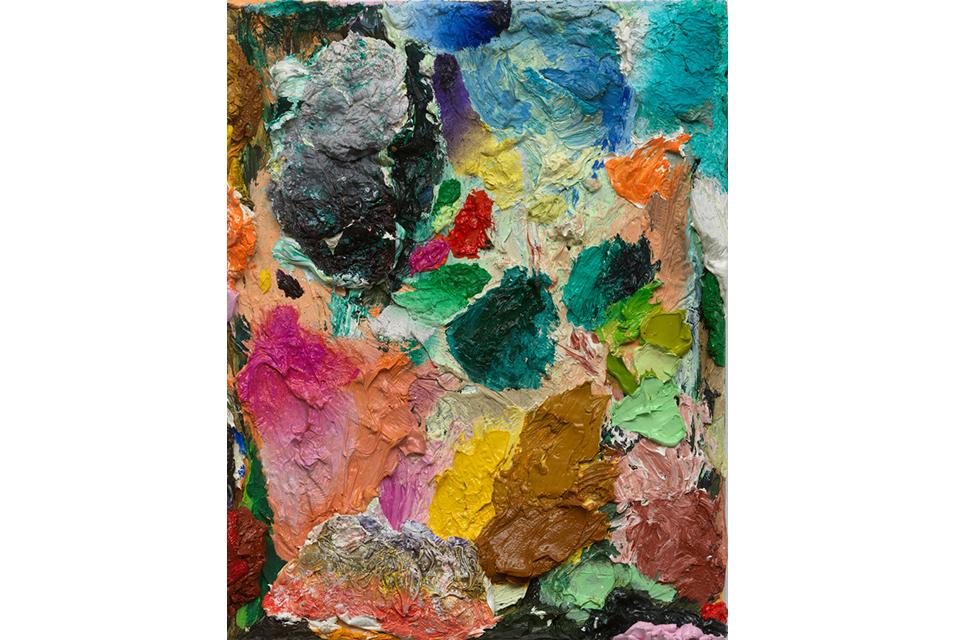David Roth, Untitled, 2010 - 2020. Oil on canvas, 30 x 24 cm.