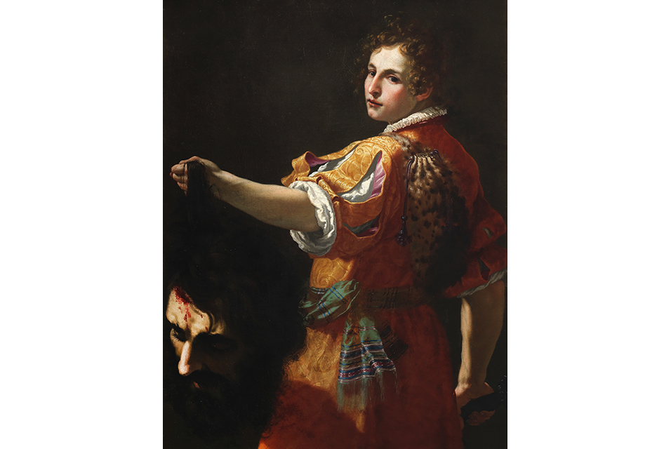 David with the Head of Goliath by Jacopo Vignali. Estimate: £150,000-200,000. Photo: Bonhams.