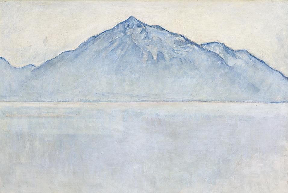 Hodler's 'Lake Thun and the Niesen' sells for CHF 4 million.