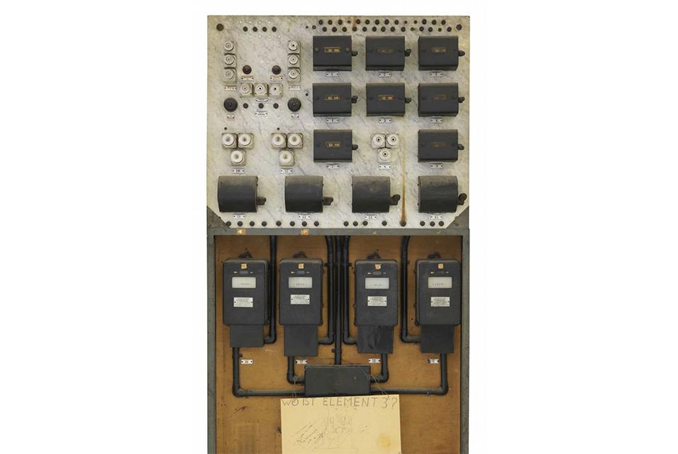 Joseph Beuys, Wo ist Element 3?, 1984. Uniqe object. 210,5 x 110,2 x 45 cm / 82.8 x 43.3 x 17.7 inches.