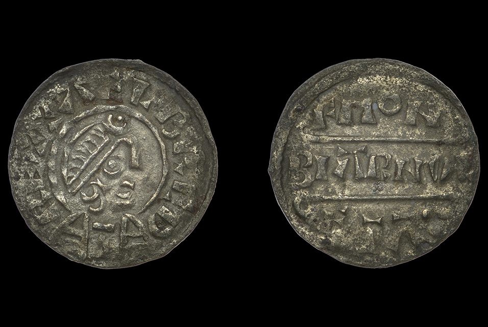 An extremely rare penny from the reign of Alfred the Great (871-899) which sold for £3,720 against an estimate of £800-1,000 to UK private buyer.