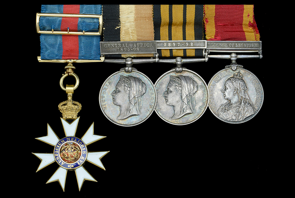 This highly-prized group of four was awarded to Dr. Wordsworth Poole.