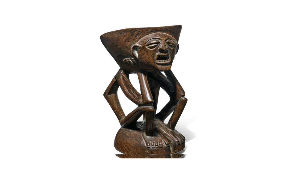 A Songye/Lulua Stool, Democratic Republic of the Congo, estimate: $40,000-60,000. Photo: Bonhams.